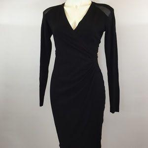 Cache Long Sleeve Dress